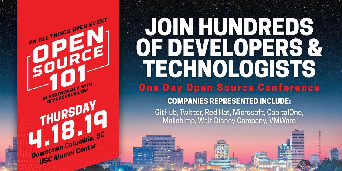 Open Source 101 Columbia - 2019