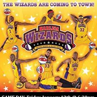 New Date - May 5th Harlem Wizards Basketball Game