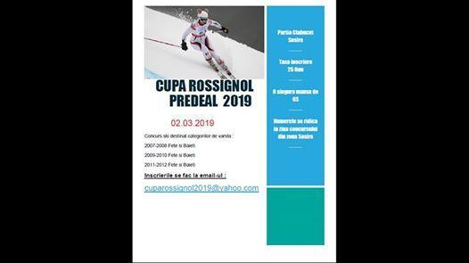 Cupa Rossignol 2019