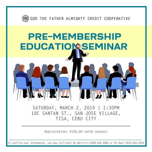 GTFA Credit Cooperative Pre-Membership Education Seminar