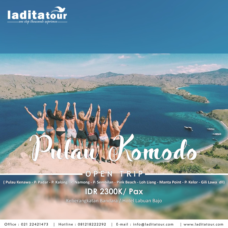 OPEN TRIP Komodo Sailing Boat 24 - 26 Agustus 2018 - Ladita Tour Jakarta