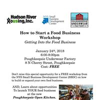 FREE How to Start a Food Business