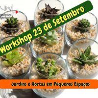 Workshop Jardim e Horta em Pequenos Espaos