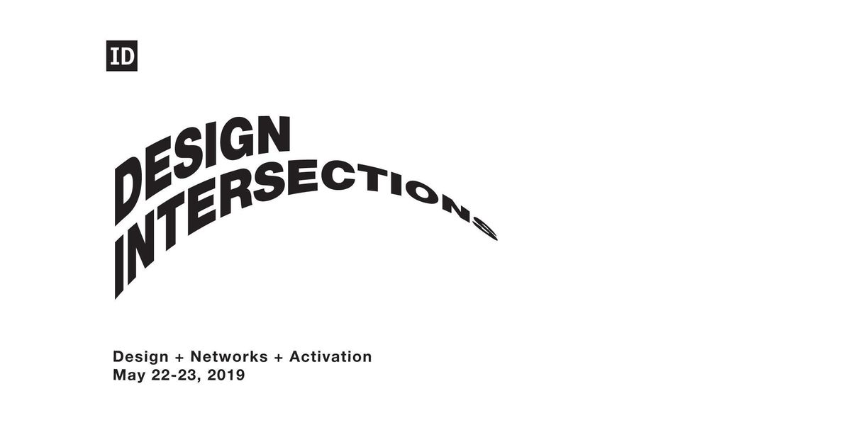 Design Intersections 2019 Design  Networks  Activation