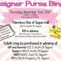 Seguin Designer Purse Bingo