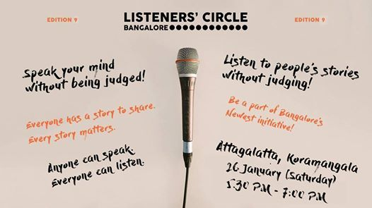 Listeners Circle - Edition 9 - Tell Your Story.