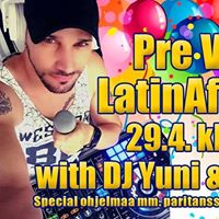 Pre Vappu LatinAfro Party with Dj Yuni &amp Yasser Sarria
