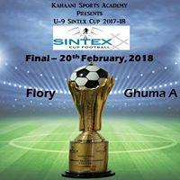 U-9 Sintex Cup Final Flory vs Ghuma A