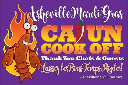 Cajun Cook-off Presented By Asheville Mardi Gras