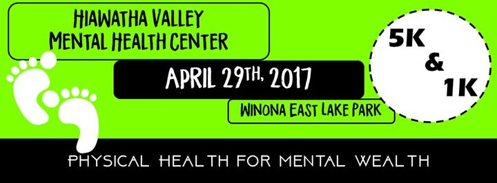 Physical Health For Mental Wealth 1k And 5k At Hiawatha Valley
