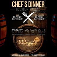 Chefs Dinner Bourbon Pairing at The Waterfront