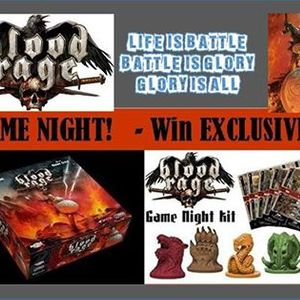 CMON Play - Blood Rage Win Exclusive Promos - Ithaca