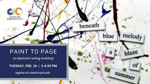 Workshop Paint to Page
