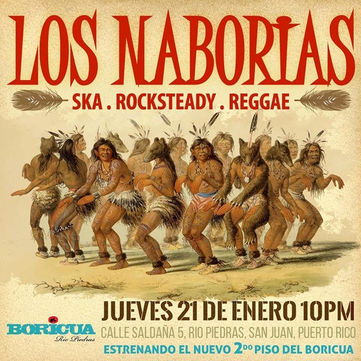 Los naborias estrenan el 2do piso del bori at el boricua for Rio grande arts and crafts festival 2016