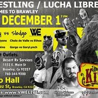 VWE Presents Former WWE &amp TNA SuperStar Kizarny in Brawley