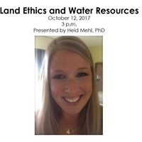 Land Ethics and Water Resources