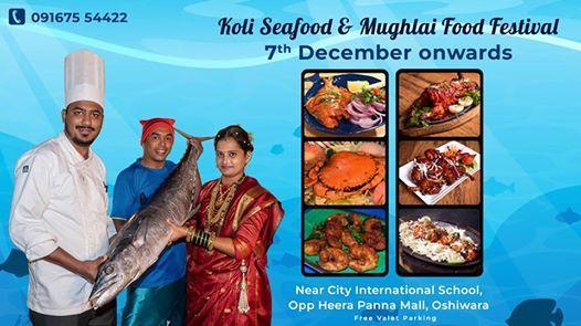 Koli Seafood & Mughlai Food Festival