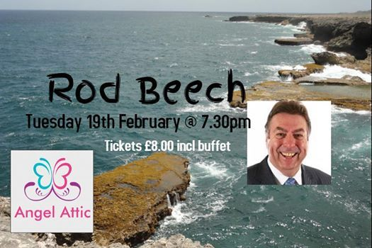 Rod Beech joins us at Angel Attic on Tuesday 19th February