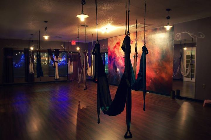 Aerial Yoga Swing Class with Mary