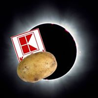 Den Kdy Vykrademe Kaufland bhem Zatmn Slunce na Bramborch