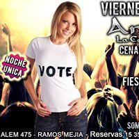 Antoinette Viernes 20 de Octubre &quotLatino Dance Pre-Electoral&quot