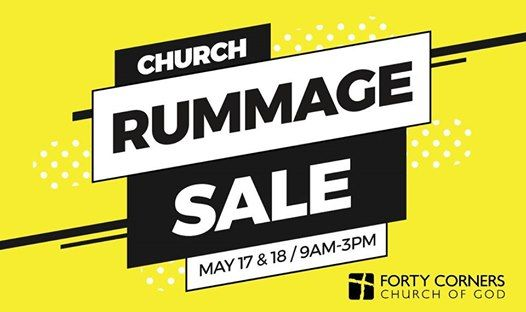 Church Rummage Sale! at Forty Corners Church of God, Ohio