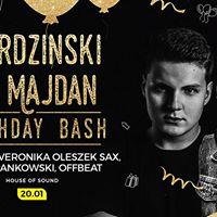 Mordzinski &amp Majdan B-day Bash feat JohnnyW 20.01