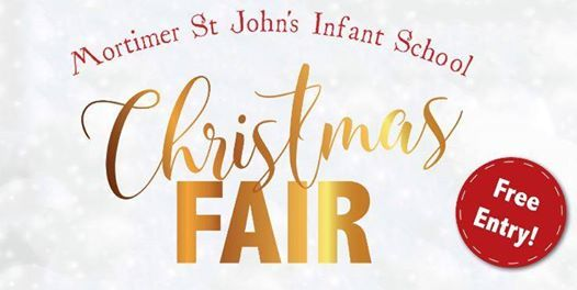 Mortimer St Johns Infant School Christmas Fair