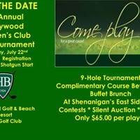 6th Annual Hollywood Womens Club Golf Tournament