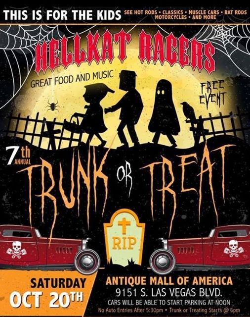 Pyro Surfers Play The 7th Annual Hellkat Racers Trunk Or Treat At