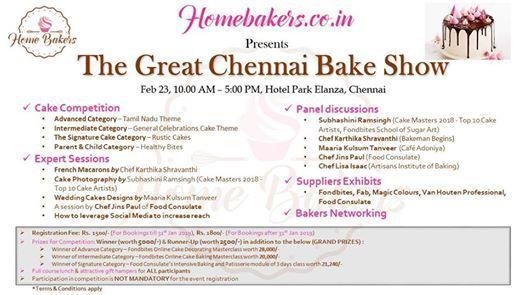 The Great Chennai Bake Show