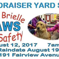 Help Brielle Paws for Safety Fundraising Yard Sale