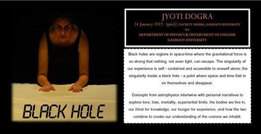 BLACK HOLE by Jyoti Dogra