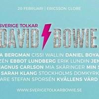 Sverige tolkar Bowie i Ericsson Globe
