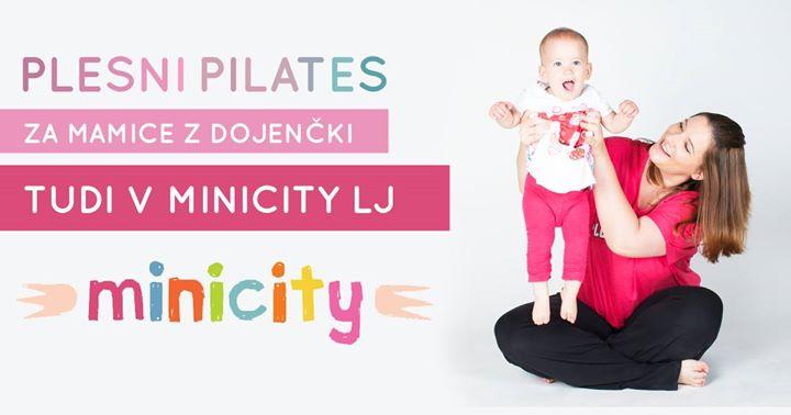 Brezplana urica Plesnega pilatesa v Minicity-ju