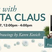 Photos with Santa &amp Caricature Drawings