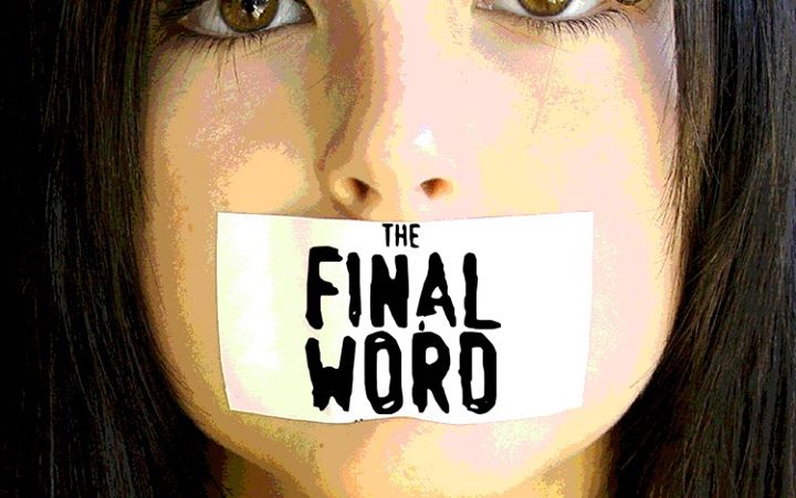 The Final Word a staged reading of a new play by George Sapio