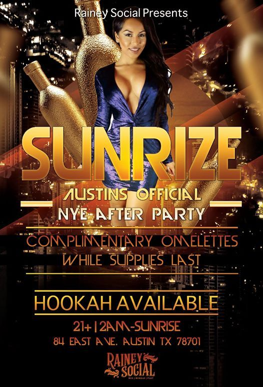SUNRIZE-The Official NYE Afterhours