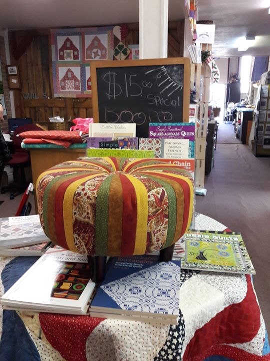 Tuffet Create Your Own 2 Part Class At The Quilt Loft Albany