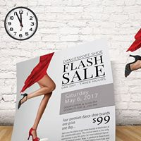 Dance Shoe Flash Sale Toronto - May 6th - 12 to 3PM