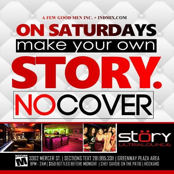 ON SATURDAYS MAKE YOUR OWN STORY.