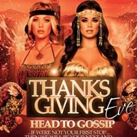 Club G Thanksgiving Eve  Gossip - Say LINX LIST  The Door For The Hook-Up
