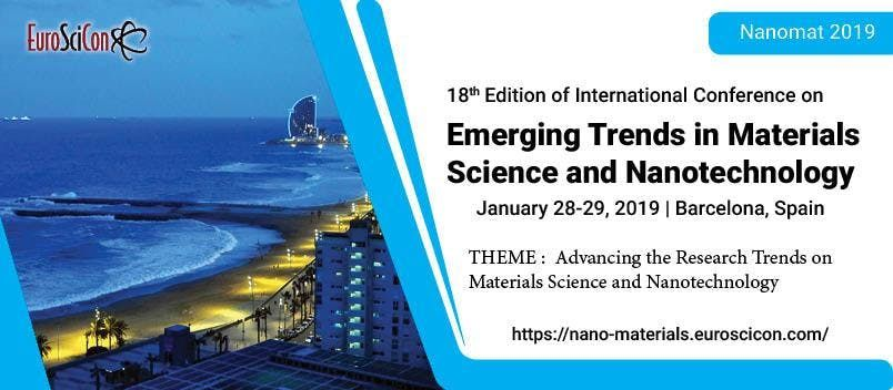 18th Edition of International Conference on  Emerging Trends in Materials Science and Nanotechnology