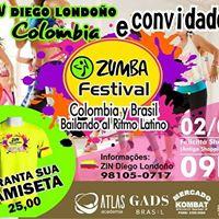 Zumba Festival  ColombiaBrasil