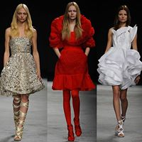 New York Fashion Week Fashion Industry Spectacular Tribute To 9-11