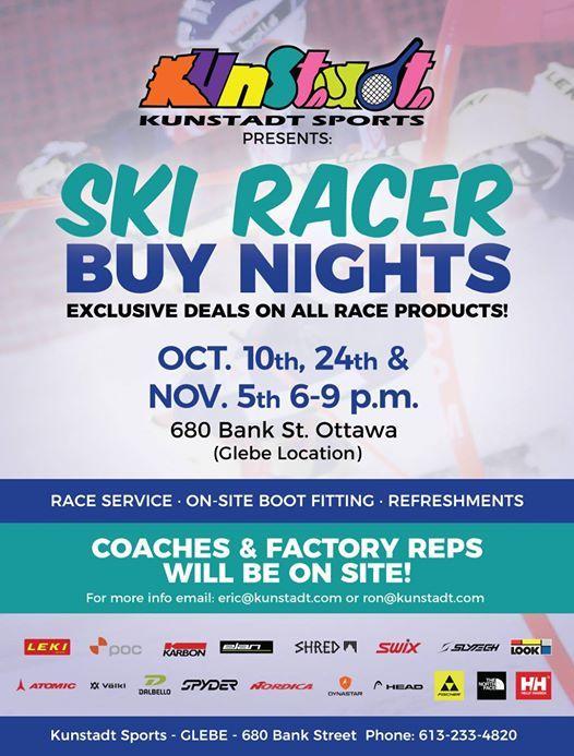Ski Racer Buy Night 2