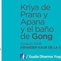 Kriya de Prana y Apana y Bao de Gong
