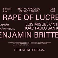 The Rape of Lucretia de Benjamin Britten (Lisboa)