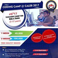 Coding CAMP AT CALEB