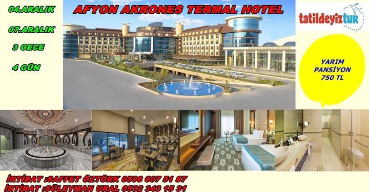 Afyon Akrones 5  Termal Hotel